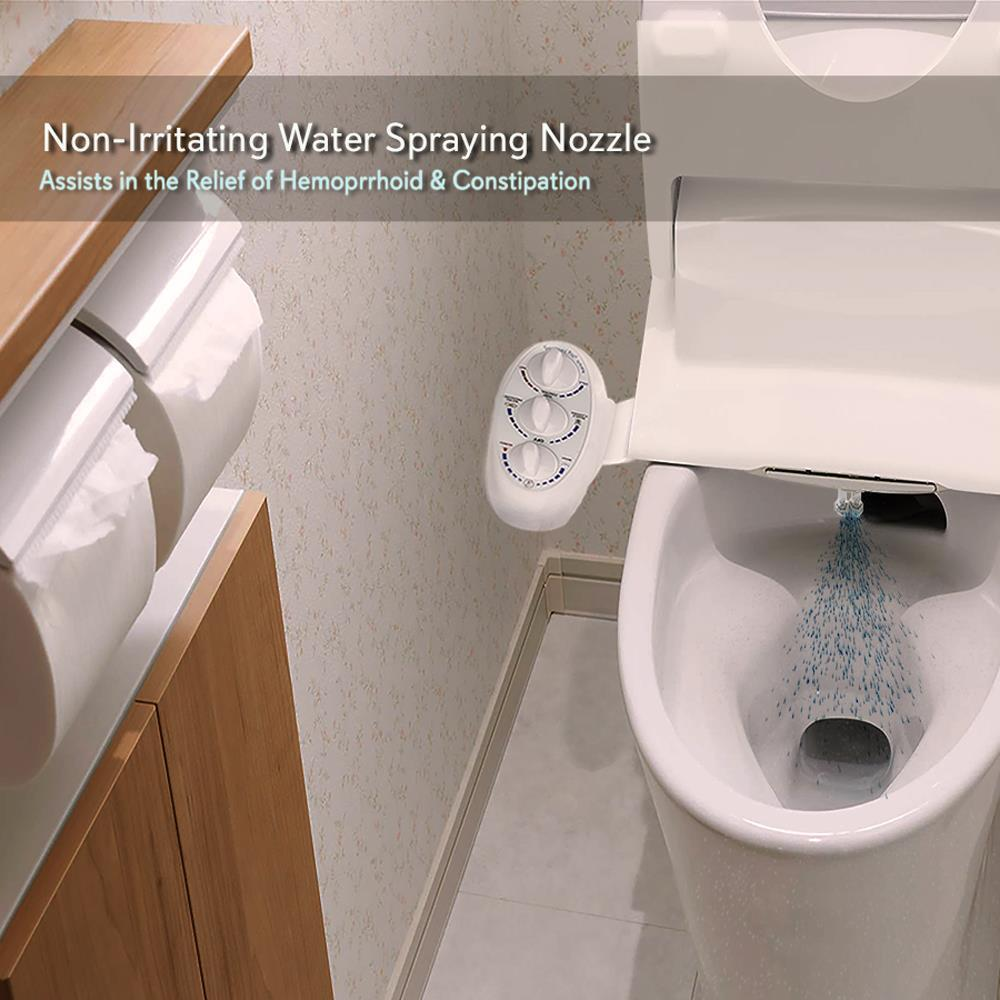 Serenelife Sltlsp14 Bathroom Bidet Attachment Hot