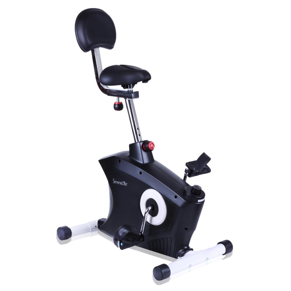 Serenelife Slxb8 Home Office Exercise Bike Under Desk Bicycle Pedaling Fitness Machine