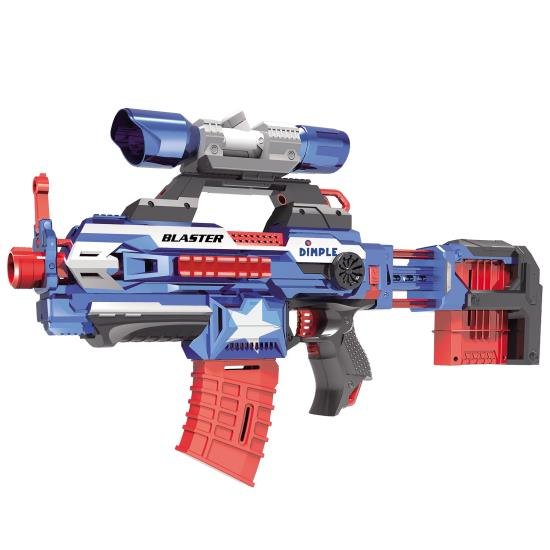 Dimple Dc12616 40 Foam Dart Attack Blaster With Rapid