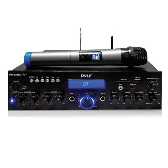 Details About Compact Home Theater Amplifier Stereo Receiver With Bluetooth Wireless Streaming