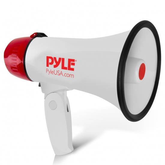 Lot of 12 Pyle 20W Compact Professional Power Megaphone W// Siren 1//4 Mile Range