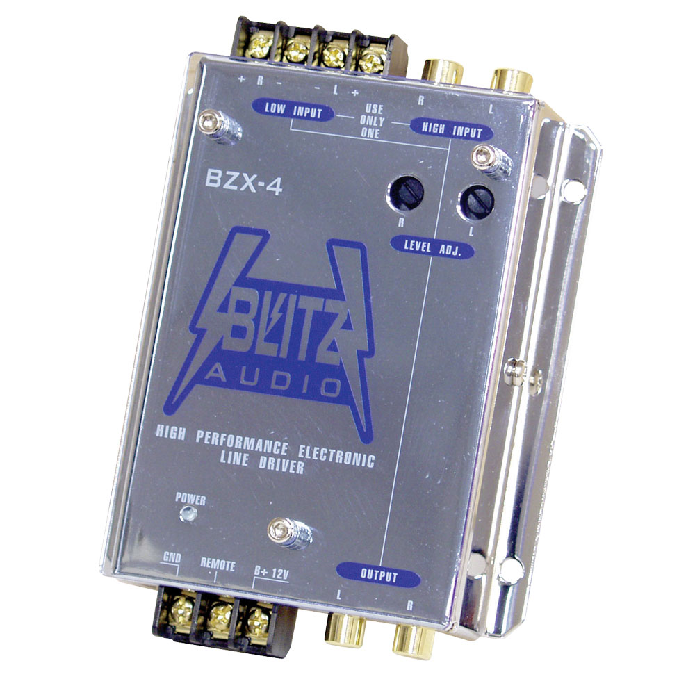 Electronic Crossover Network : Blitz bzx high performance electronic crossover line